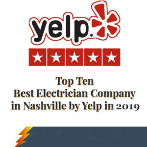 Best Electricians from Nashville Awarded by Yelp