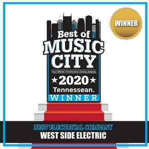 West side electric winner 2020 award photo