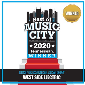 West side electric winner 2020 award photo